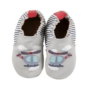 Robeez Baby Shoes - Helicopter - 12-18M
